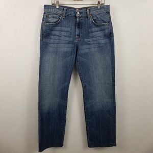 7 For All Mankind Relaxed Fit Mens Jeans 34x32